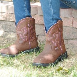 Justin Gypsy Roper Aged Bark Boots L9903 - Sz 6.5
